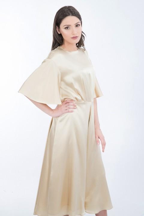 f5eeffa6ac Spanish White Silk Dress